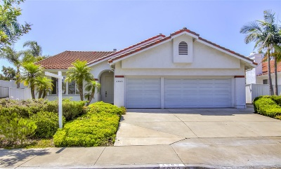 Oceanside Single Family Home For Sale: 4983 Lassen Dr