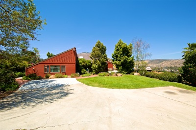San Diego County Single Family Home For Sale: 11869 Hi Ridge Rd