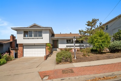 San Diego Single Family Home For Sale: 5469 Redding Road