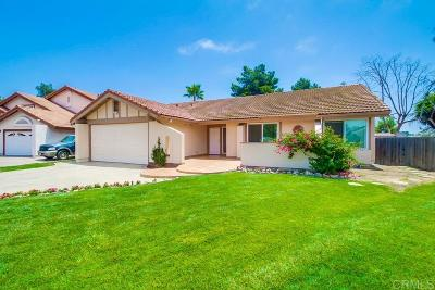 Carlsbad Single Family Home For Sale: 3117 Quebrada Ct