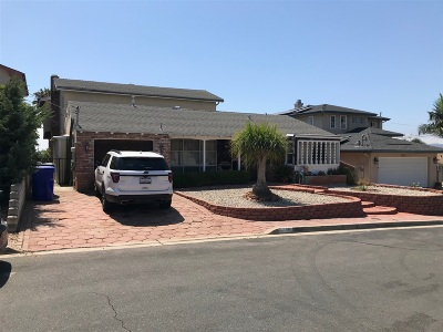 San Diego CA Single Family Home For Sale: $874,000