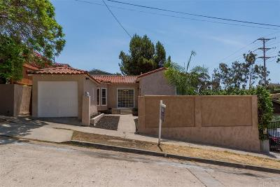 North Park, North Park - San Diego, North Park Bordering South Park, North Park, Kenningston, North Park/City Heights Single Family Home For Sale: 3457 Landis