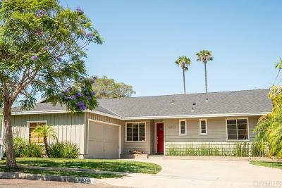 San Diego Single Family Home Pending: 4810 59th St