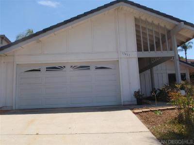 Single Family Home For Sale: 17457 Montero Rd