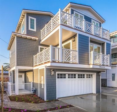 Single Family Home For Sale: 8016 La Jolla Shores Dr