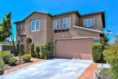 La Mesa Single Family Home For Sale: 7440 Eastridge Dr