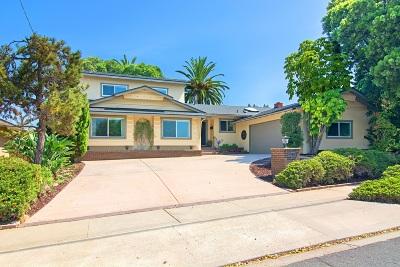 Del Cerro, Del Cerro Heights, Del Cerro Highlands, Del Cerro Terrace Single Family Home For Sale: 6272 Lambda Dr