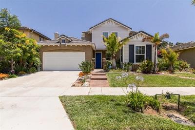 Escondido Single Family Home For Sale: 2853 Oro Blanco Cir
