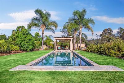 Vista CA Single Family Home For Sale: $835,000