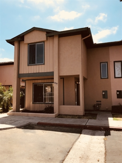 San Diego Townhouse For Sale: 2054 Bluehaven Ct