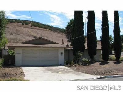Poway Single Family Home For Sale: 12503 Buckskin Trl