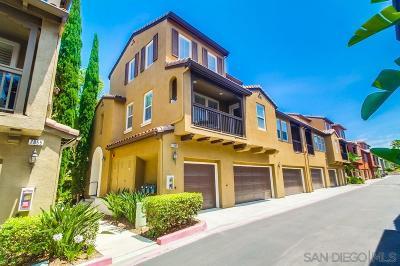 San Diego Townhouse For Sale: 7865 Via Belfiore #4