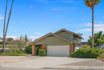 Single Family Home For Sale: 12485 Pomerado Pl