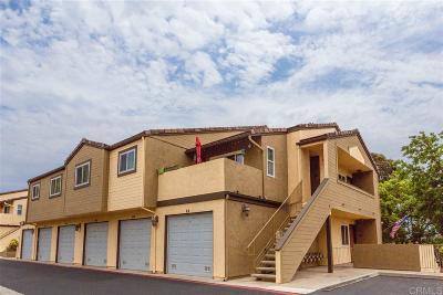 Ocean Side, Oceanside Attached For Sale: 5034 Los Morros Way #65