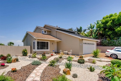 Oceanside Single Family Home For Sale: 4422 Springtime Dr