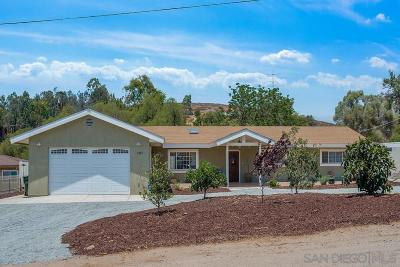 Escondido Single Family Home For Sale: 1947 Greenview Road