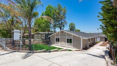 Escondido CA Multi Family 2-4 For Sale: $549,900