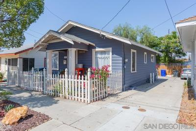 North Park, North Park - San Diego, North Park Bordering South Park, North Park, Kenningston, North Park/City Heights Single Family Home For Sale: 4036 34th St