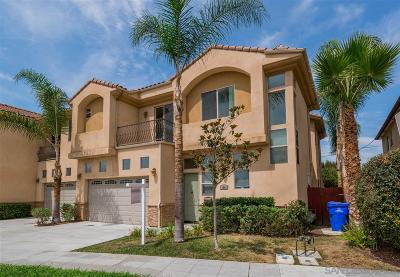 San Diego Townhouse For Sale: 4542 Boundary