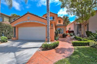 Oceanside Single Family Home For Sale: 1587 Via Otano