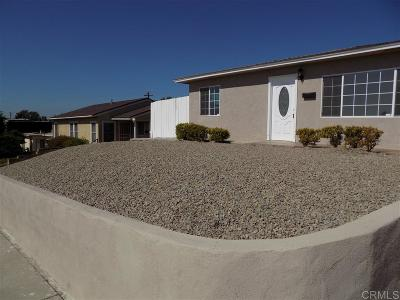 San Diego Single Family Home For Sale: 2431 Reo Dr.