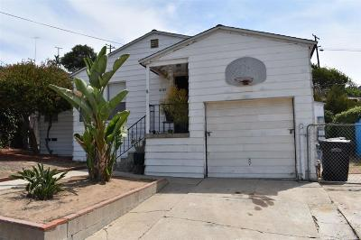 San Diego Single Family Home For Sale: 4141 N 60th St