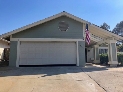 San Diego Single Family Home For Sale: 710 Arroyo Seco Drive