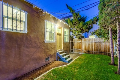 San Diego Single Family Home For Sale: 4064 Laverne Place