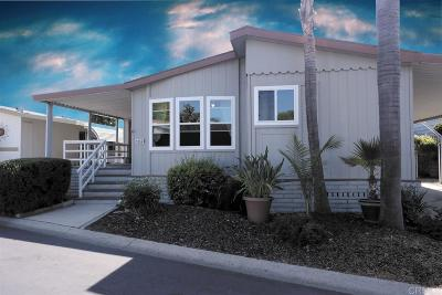 Carlsbad Mobile/Manufactured Sold: 3554 Don Juan Drive
