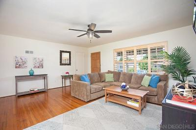 San Diego Single Family Home Pending: 5123 E Falls View Dr.