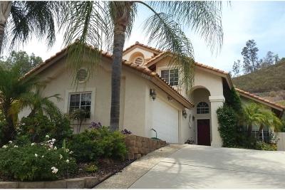 Ramona CA Single Family Home For Sale: $559,000