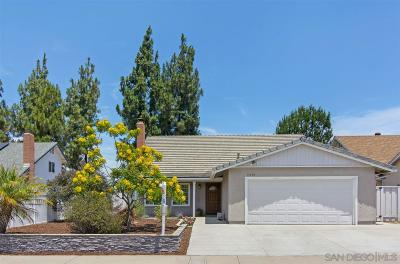 Single Family Home For Sale: 11170 Socorro St.