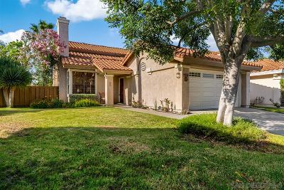 San Diego Single Family Home For Sale: 7584 Wallingford Ct