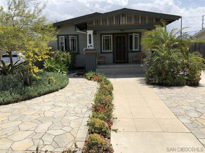 San Diego Multi Family 2-4 For Sale: 3611 Herman Ave