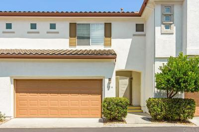 San Diego Townhouse For Sale: 10926 Ivy Hill Dr #5