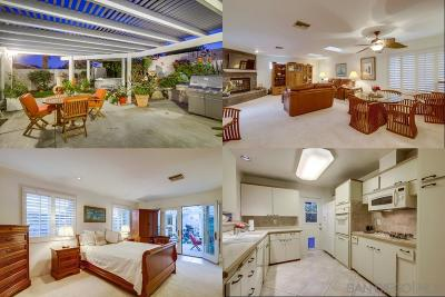 San Diego Single Family Home For Sale: 2460 Blue Jay Drive