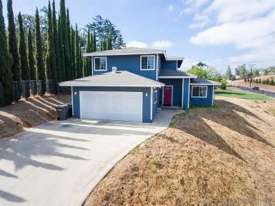 Escondido Single Family Home For Sale: 1744 N Ash St
