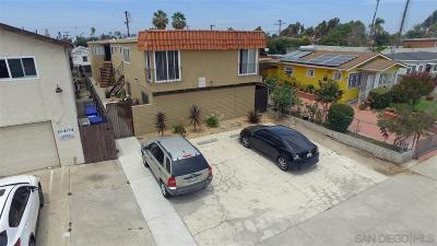 San Diego Multi Family 5+ For Sale: 4558 40th St