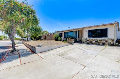 San Diego Single Family Home For Sale: 3814 Loma Alta Dr