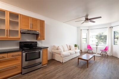 San Diego Attached Pending: 2650 Broadway #207