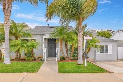San Diego Multi Family 2-4 For Sale: 867-869 Tourmaline