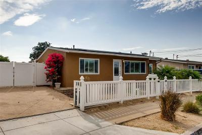 San Diego Single Family Home For Sale: 802 Sunnyside Ave