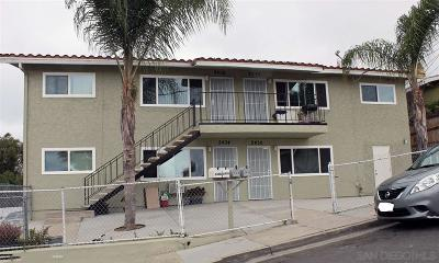 San Diego Multi Family 2-4 For Sale: 2434-2440 Laurie Ln