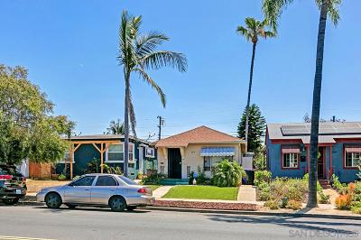 San Diego Multi Family 2-4 For Sale: 3317-19 Nile Street