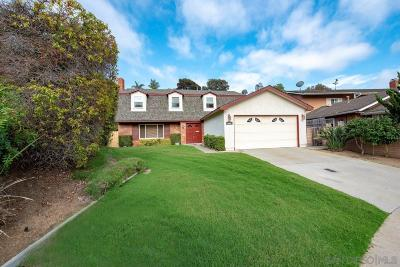 San Diego CA Single Family Home Sold: $875,000