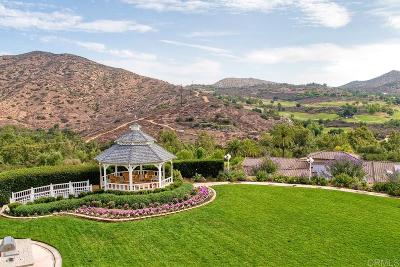 Poway Single Family Home For Sale: 17797 Del Paso Dr