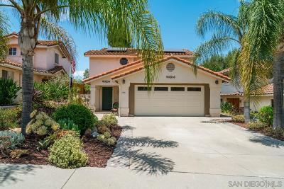 Escondido CA Single Family Home For Sale: $529,000