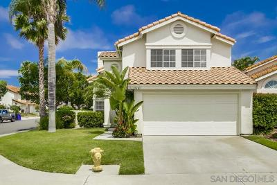 San Diego Single Family Home For Sale: 12683 Brickellia St