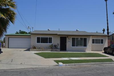 San Diego Single Family Home For Sale: 771 Encinitas Ave.