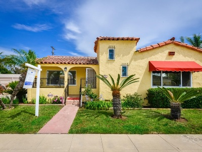 San Diego Single Family Home For Sale: 4557 44th
